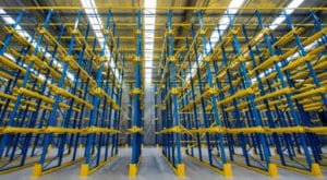 Drive in Pallet Racking, Warehouse, New Drive in Racking, UK, New Drive in Racking North, New Drive in Racking North West, New Drive in Racking North East, New Drive in Racking County Durham, Storage, Dexion P90