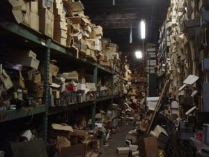 Messy Warehouse