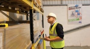 Safety Inspection, Pallet Racking, Warehouse