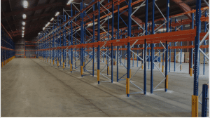 Second hand Stow pallet racking, second hand pallet racking, warehouse racking